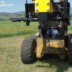 MONTANA 1000E SERIES FENCE POST DRIVER
