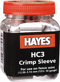 Hayes HC3 12.5-10Ga Crimp Sleeves