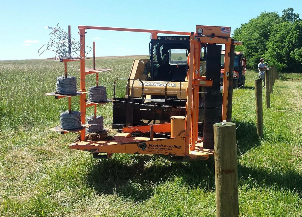 Picture of: Ezg Stretch N Go Mesh Barbed Wire Hog Fencefast Ltd