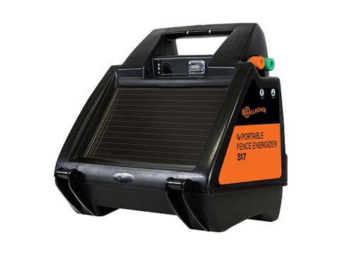 Gallagher S17 Portable Solar Fence Energizer