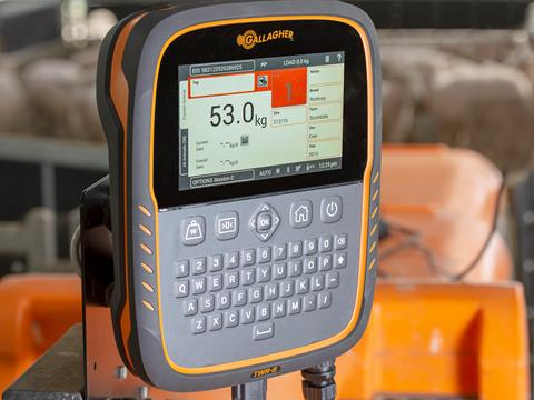 Gallagher TWR-5 Livestock Weigh Scale, Reader & Data Collector/Manager