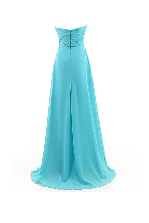 A-line Sweetheart Beading Chiffon Prom Dress Evening Gown PG262 - Pgmdress
