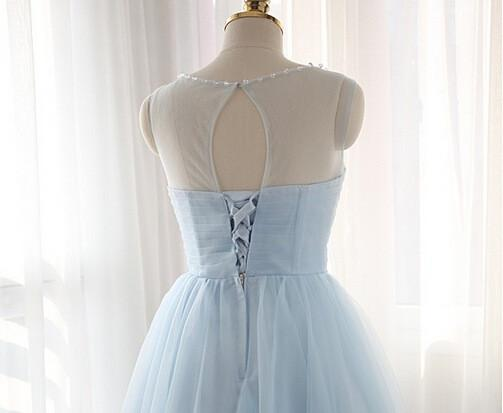 Charming Tulle Short Prom Dresses Homecoming Dresses PG019 - Pgmdress
