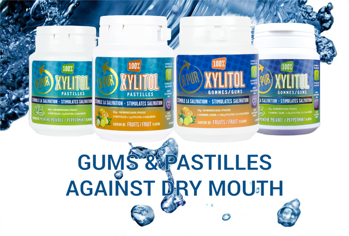 X-PUR 100% Xylitol: Gums & Pastilles Against Dry Mouth