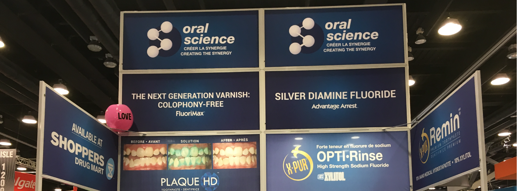 Oral Science Spreads #LOVE at the 2018 Pacific Dental Conference