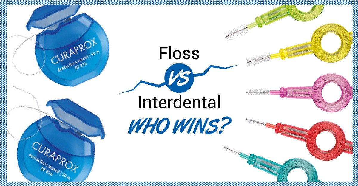 Curaprox: Floss vs Interdental Brushes, Who Wins?