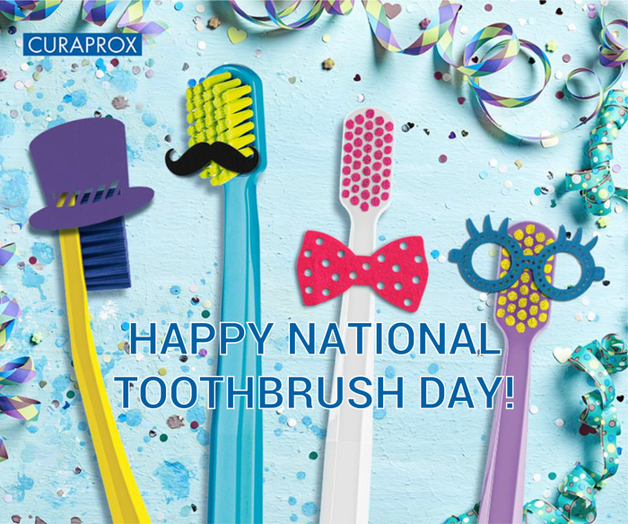 Happy National Toothbrush Day!