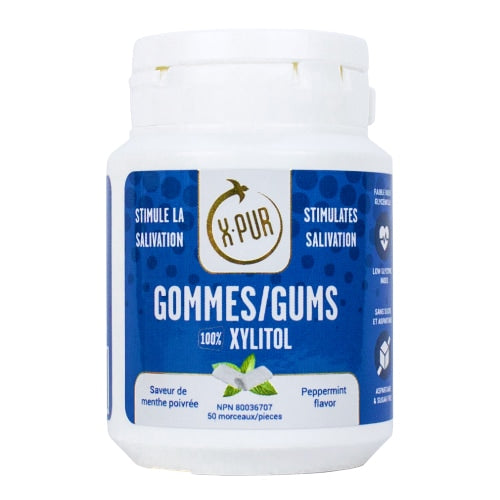 X-PUR Gums 100% Xylitol - Small bottles