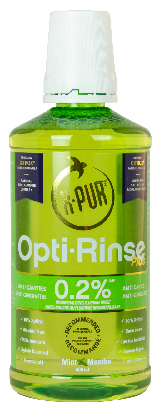 X-PUR Opti-Rinse Plus 0.2% NaF - 500 ML