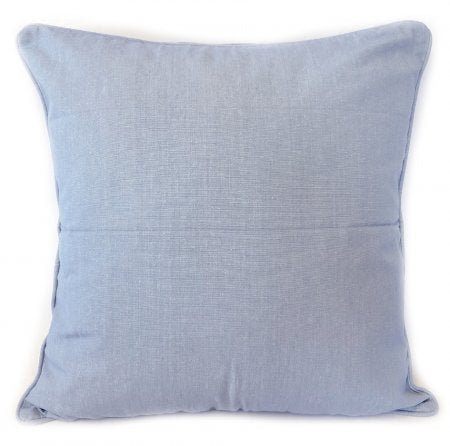 Chambray Pale Blue Cushion Cover - 50 x 50 cm