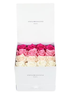 "Customize Your ""SQUARE OF INFINITY"" With Ombre Roses"
