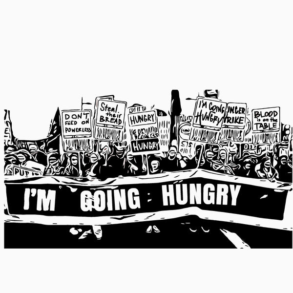 HUNGER STRIKE - Womens