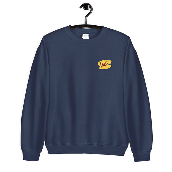 Luke's Embroidered Sweatshirt - Wishes & Co.