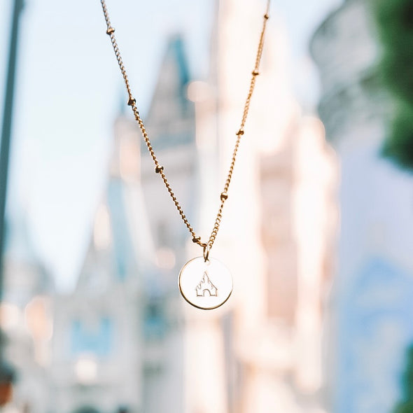 Castle Necklace - Wishes & Co.