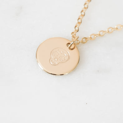 Calavera Necklace - Wishes & Co.