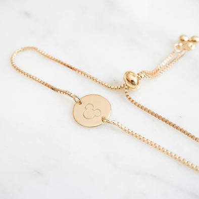 Your Favorite Mouse Bolo Bracelet - Wishes & Co.