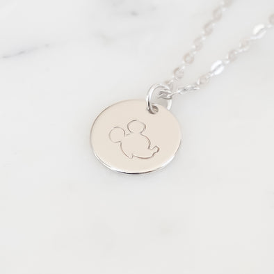 Iconic Mouse Necklace - Wishes & Co.