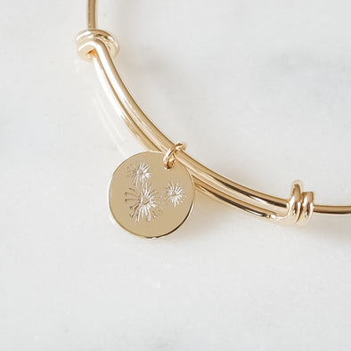 Mouse Fireworks Bangle Bracelet - Wishes & Co.