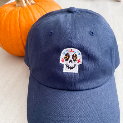 Sugar Skull Hat - Wishes & Co.