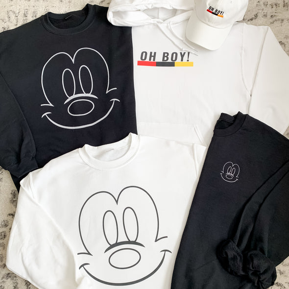 OH BOY! Hoodie - Wishes & Co.