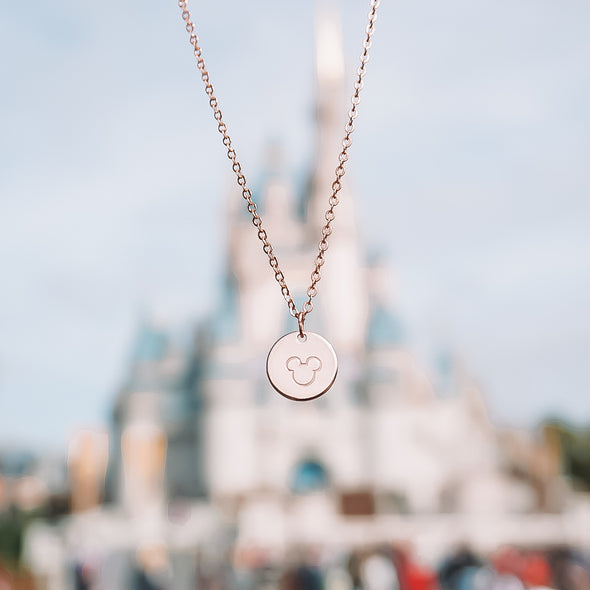 Your Favorite Mouse Necklace - Wishes & Co.