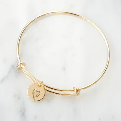 Mickey Balloon Bangle Bracelet - Wishes & Co.