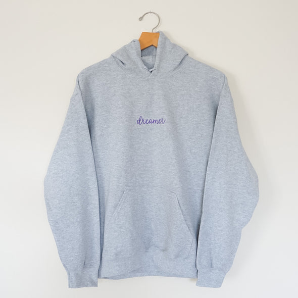 Dreamer Embroidered Hoodie - Wishes & Co.