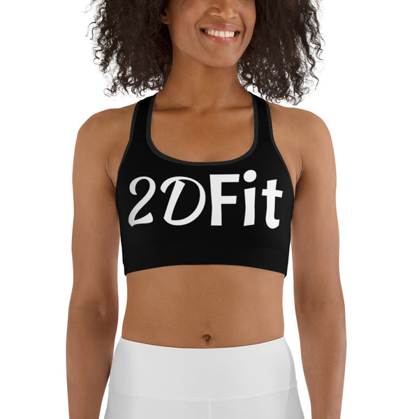 I AM A BAD ASS 2D FIT Sports Bra