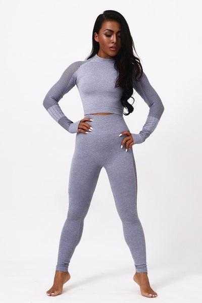 Seamless Compression Fitness Set