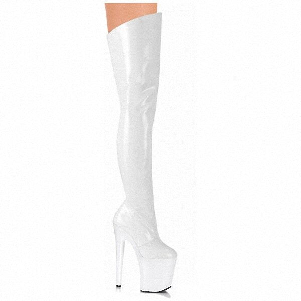 Over the knee 2D Pole Fit Boots