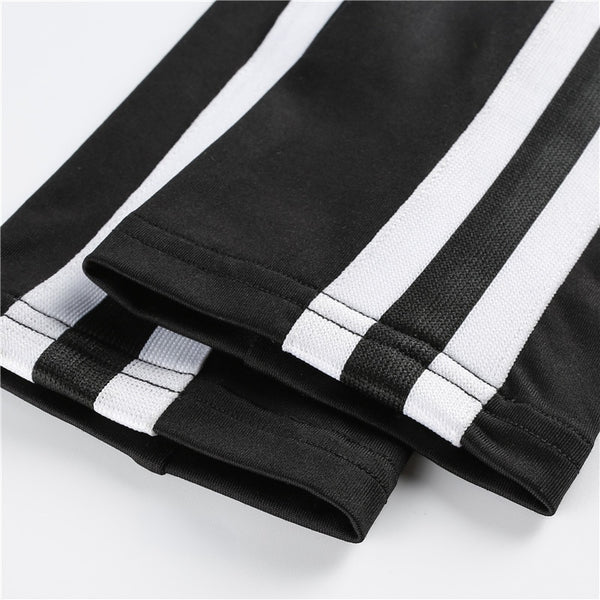 2D Sport Side Stripe Aerial Leotard