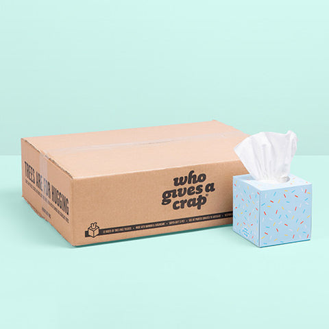 One-Time Add-On: 12 Boxes of Forest Friendly Tissues