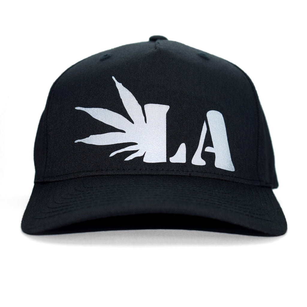 The Marijuana Company® - LA-Weed Logo Black Cap