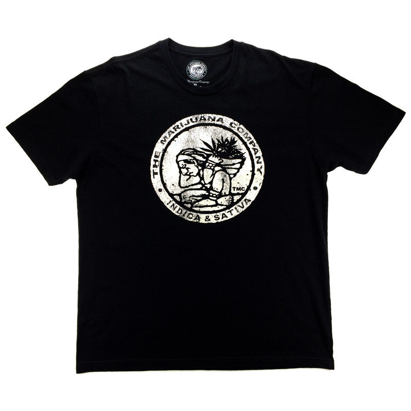 The Marijuana Company® Men's Vintage Logo Tee S/S Crew