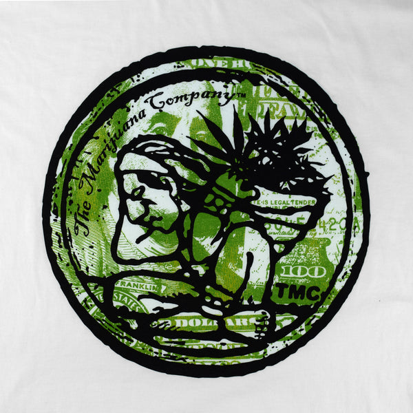 "The Marijuana Company® Men's ""Benjamin""  T-shirt"