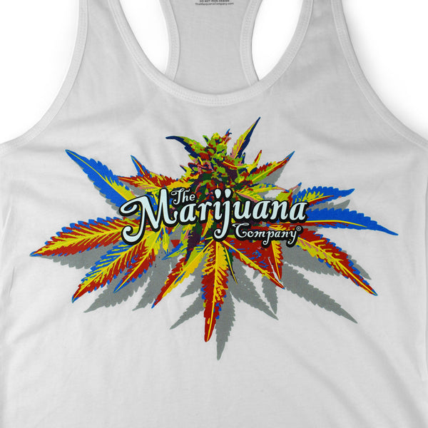 The Marijuana Company® Magical Flower Women's Racerback Tank