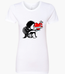 White Cupid T-Shirt