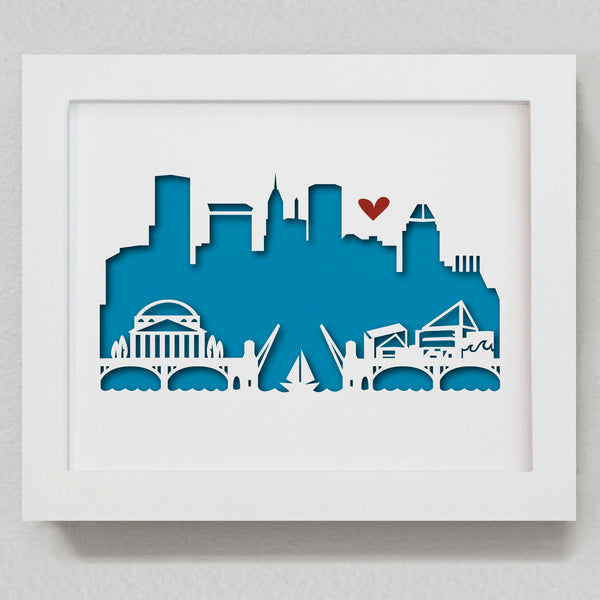 "Baltimore - 8x10"" cut-out"