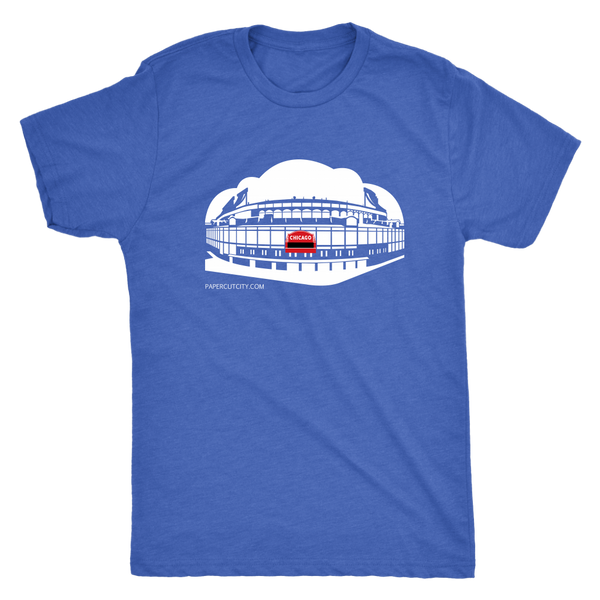 Chicago Baseball - premium triblend T-shirt