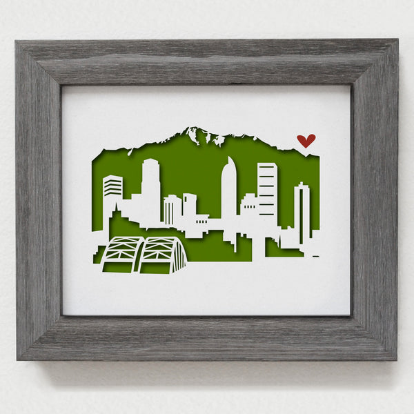 "Denver - 8x10"" cut-out"