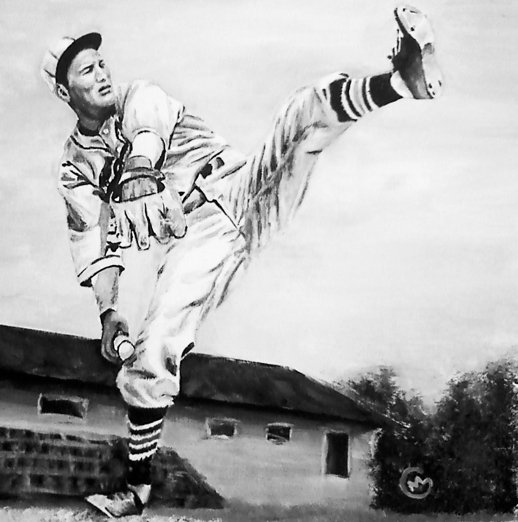 Dizzy Dean - SOLD painting
