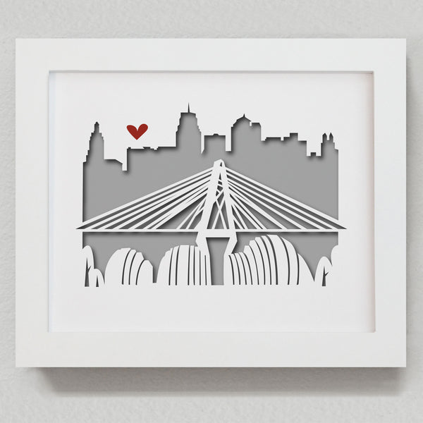 "Kansas City - 8x10"" cut-out"