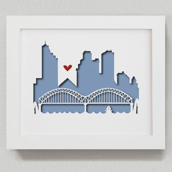 "Memphis - 8x10"" cut-out"