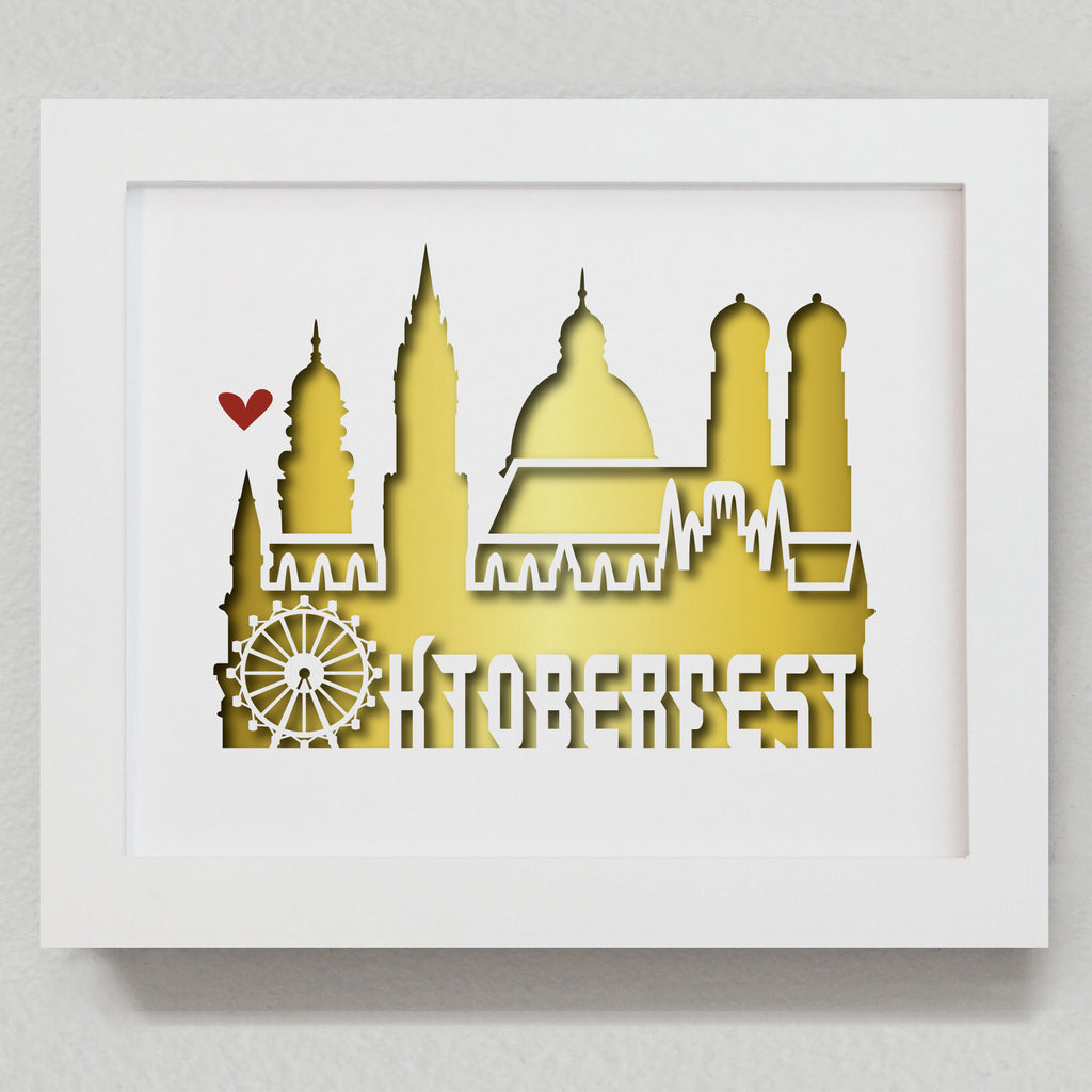 "Munich Oktoberfest - 8x10"" cut-out"