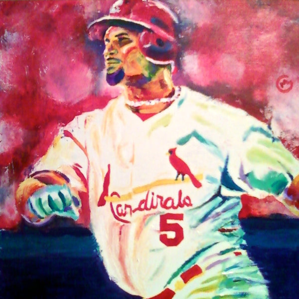 Albert Pujols - SOLD painting