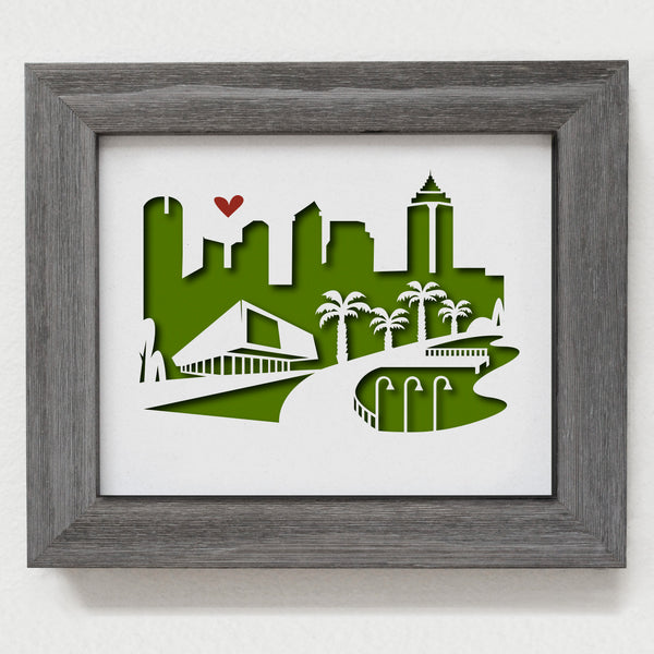"Tampa Bay - 8x10"" cut-out"