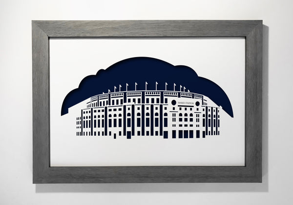 Yankee Stadium, New York, House that Ruth built, office decor, gift, art