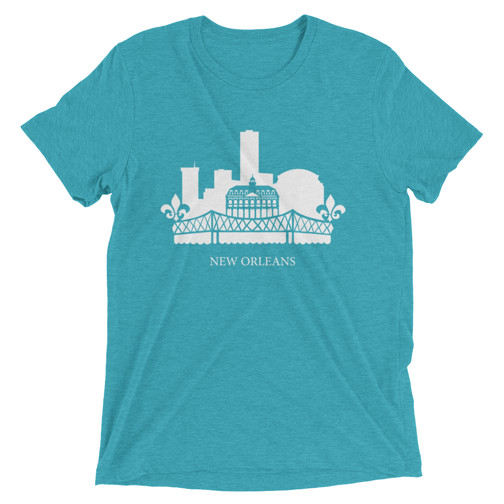New Orleans - men's premium triblend T-shirt
