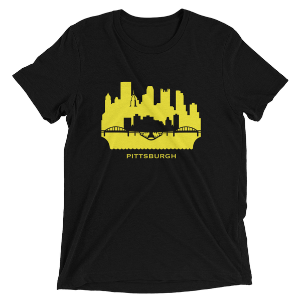 Pittsburgh - men's premium triblend T-shirt