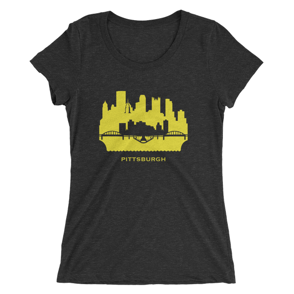 Pittsburgh - women's premium triblend T-shirt